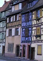 Colourful houses in Colmar